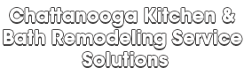 Chattanooga Kitchen & Bath Remodeling Service Solutions_wht-We do kitchen & bath remodeling, home renovations, custom lighting, custom cabinet installation, cabinet refacing and refinishing, outdoor kitchens, commercial kitchen, countertops, and more